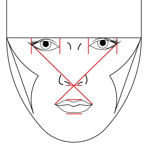 draw nose illustrator modeling the human face in illustrator