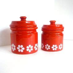 cute kitchen canisters 1000 images about red kitchen canister sets on pinterest