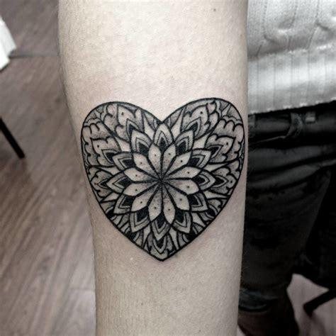 mandala tattoo review 8 lovely heart mandala tattoos tattoodo