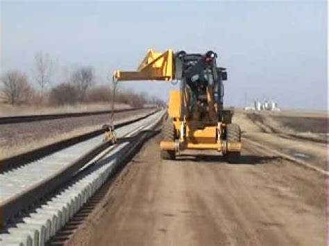rail to rail swing swing loader threading rail youtube