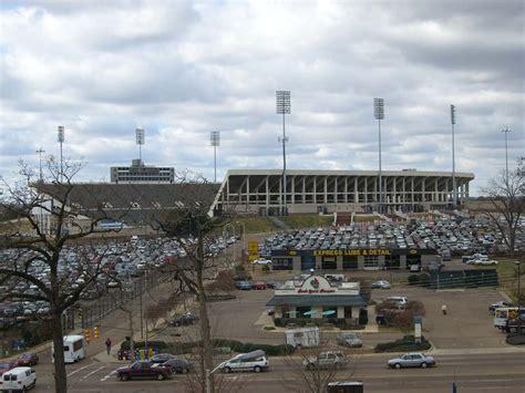 Mba Field Jackson Ms by Mississippi Veterans Memorial Stadium