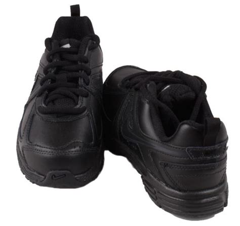 black sneakers boys nike dart 9 toddler boys black leather lace up sneakers ebay