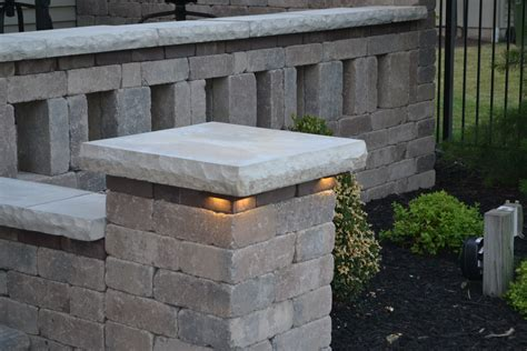 Patio Pillar Lights Kerr Lighting Led Lights For Steps Wall And Pillar Caps Sek Surebond