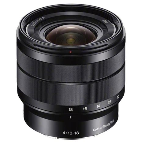 Lensa Sony E 10 18mm F 4 5 5 6 Oss e series 10 18mm f 4 oss lens park cameras