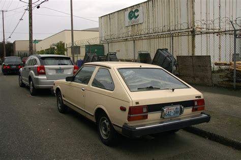 datsun 310 hatchback parked cars 1982 datsun 310 gx