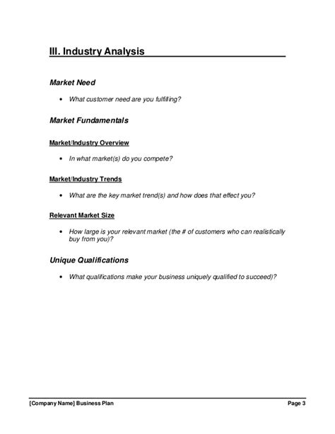 Growthink Business Plan Template by Growthink Business Plan Template Free