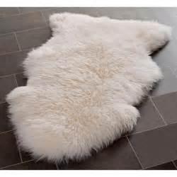 white sheepskin rug shs121a w1734 www lsplus