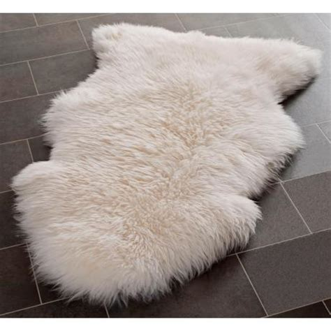 Sheepskin Rug by White Sheepskin Rug Shs121a W1734 Www Lsplus