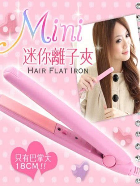 Catok Flat Hair Iron stuff catokan mini