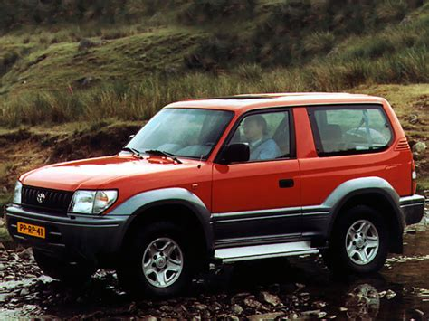 Toyota 3 Door Land Cruiser Toyota Land Cruiser 90 3 Door J90w 1996 99