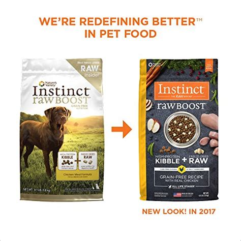 high value 3 1 nature s instinct raw pet food printable instinct raw boost grain free chicken meal formula natural