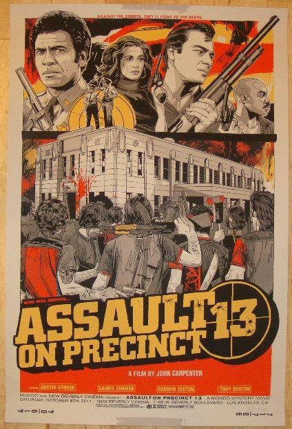 Assault On Precinct 13 Austin Alamo Drafthouse Cinema - 54 best images about art of tyler stout on pinterest