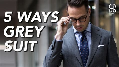 10 Ways To Wear A Suit Right Now Fashion Trends by 5 Ways To Wear A Grey Suit S Ideas