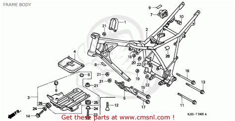 honda tl 125 wiring diagram free wiring
