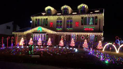 christmas lights in virginia beach youtube