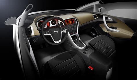opel astra interior revealed pics  autoevolution