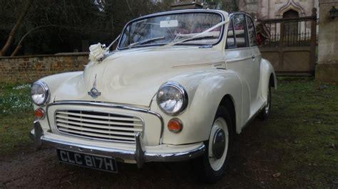 convertible white morris minor  weddings  leicestershire  rutland