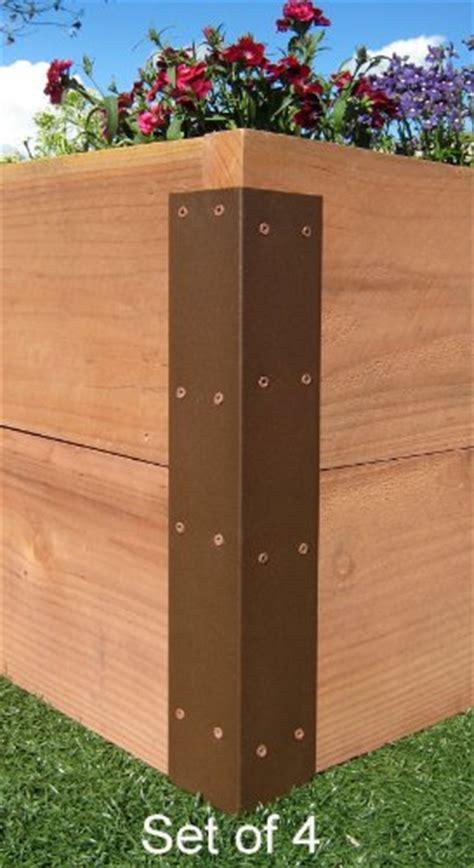 raised garden bed corner brackets raised garden bed kits for your vegetable or flower garden