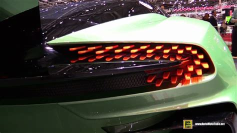 Aston Martin Lights by Aston Martin Vulcan At 2015 Geneva Motor Show