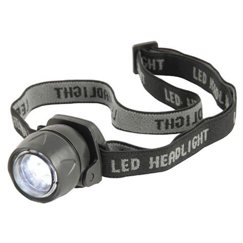 Led Headl free torch 3 led torch weatherproof design