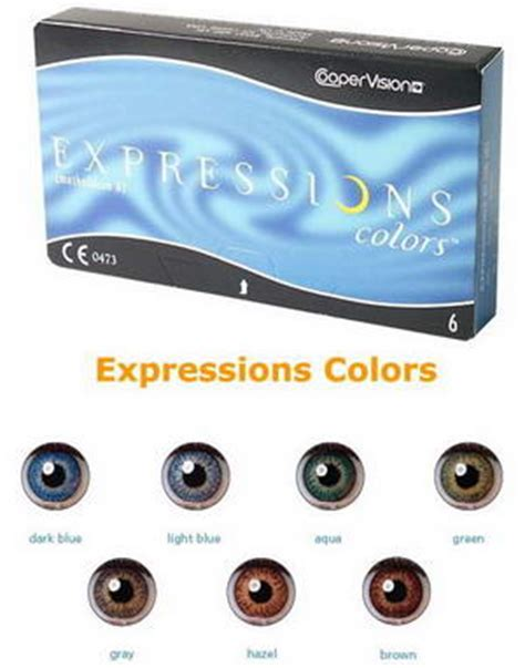 expression color contacts coopervision
