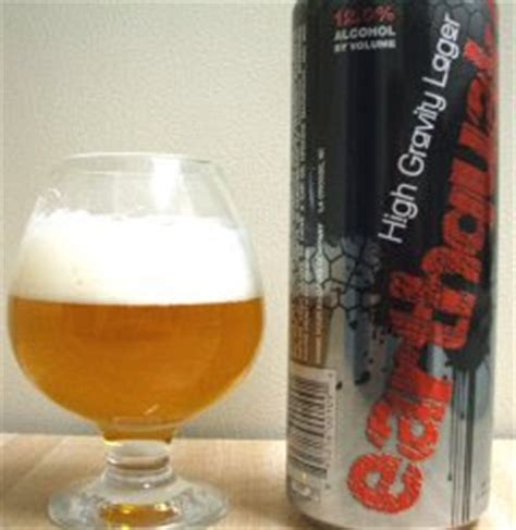 earthquake high gravity lager the beer man earthquake high gravity lager