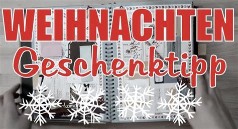 diy weihnachtsgeschenke ideen diy scrapbook weihnachtsgeschenk idee f 252 r beste freunde