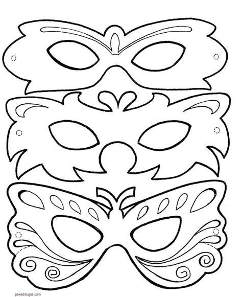 dibujos para colorear de halloween calabazas mascaras carnaval ninos dibujos de caretas y m 225 scaras para colorear