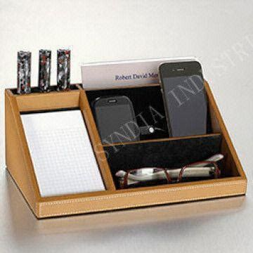 Electronic Charging Station Desk Organizer Leather Desk Organizer Charging Station Charging Valet Global Sources