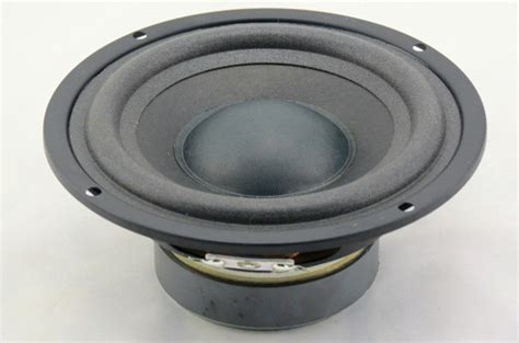 Speaker Subwoofer 5 Inch 1 pcs 5 quot inch 4 ohm 25w audio speaker stereo woofer subwoofer loudspeaker in portable speakers