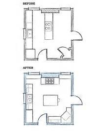 bhg floor plans 1000 images about kitchen floor plans on