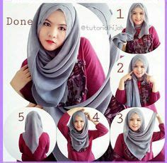 tutorial pashmina yg mudah tutorial memakai shawl seperti tudung bawal 4 segi style