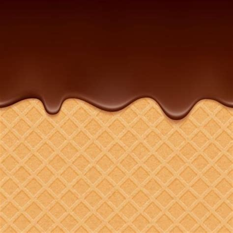 background coklat chocolate drop with waffles background vector 02 vector