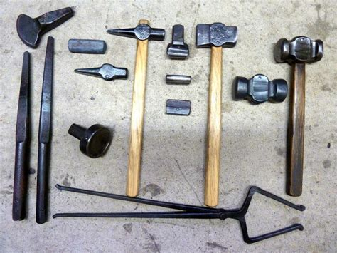 Handmade Tools - blacksmithing tools for tools and hardware