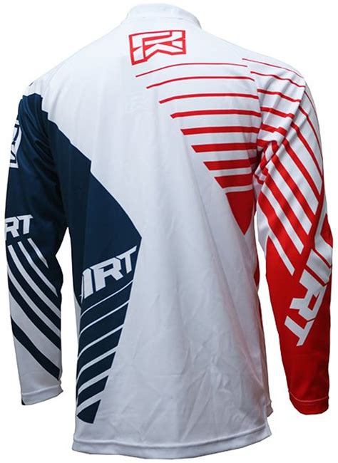 Baju Jersey Sepeda Alpine Putih Murah jersey sepeda dirtworks maschine biru merah putih jual baju jersey celana sepeda mtb