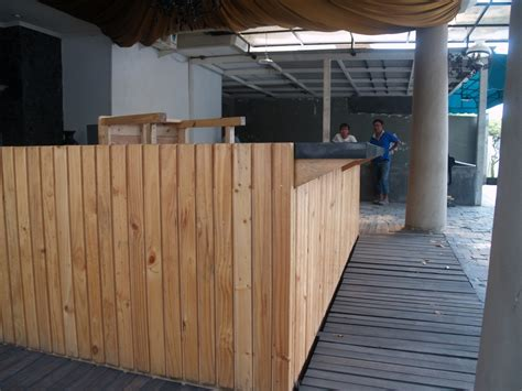desain cafe jati belanda jual cafe bar counter meja bar meja kasir meja lobby kayu