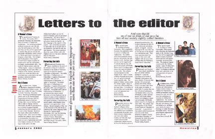 letter design editor letters to editors page layout design newsline reputed