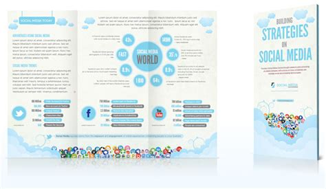 Social Media Brochure Template 25 brochure designs creative inspiring inspiration