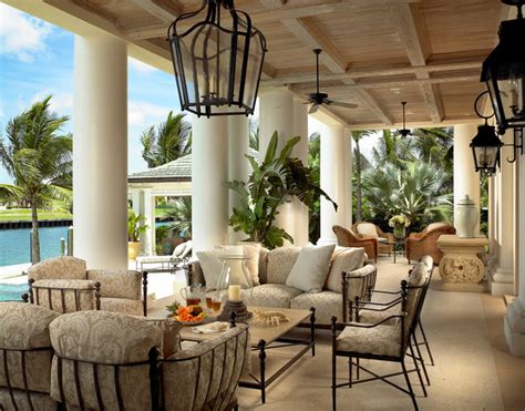 Bahamas Style Interior Design by Home In The Bahamas Mediterranean Patio Other By Edward Lobrano Interior Design Inc