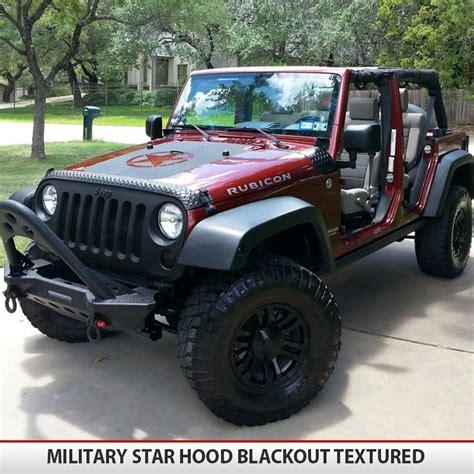 military star jeep hood blackout
