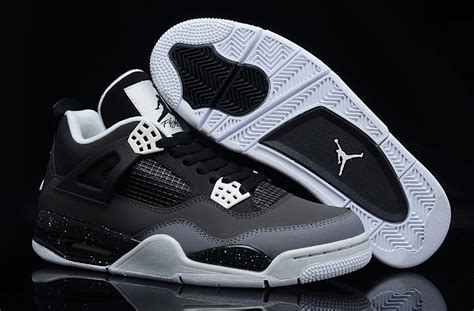 Cool Grey Air 4 For Sale by Air 4 Retro Fear Pack Black White Cool Grey Platinum For Sale New Jordans 2018