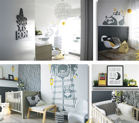 Wall Stickers For Baby Boy Room stickers panda pour chambre enfants e glue blog