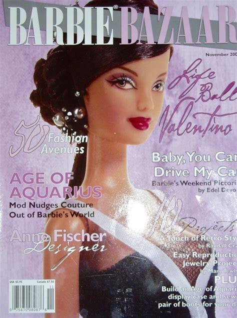 fashion doll magazine 29 best magazines images on bazaars