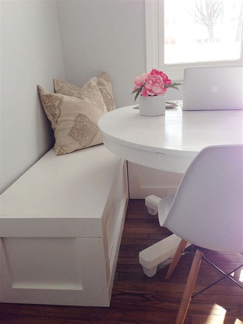 diy corner banquette diy nooks and banquettes decorating your small space