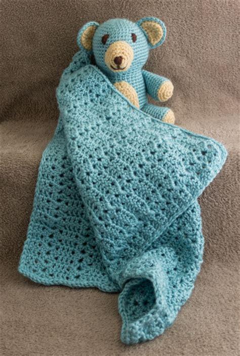 Comfort Blankie by Crochet Archives E Liz Treasures