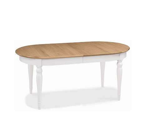 Two Tone Kitchen Tables Hstead Two Tone Extending Dining Table Uk Delivery