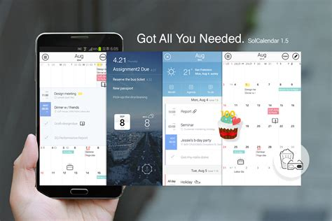 Yahoo Calendar Android Best Android And Iphone Calendar Apps And Widgets 2015