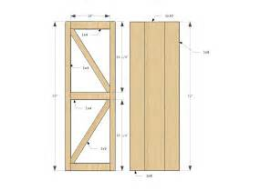 Barn Door Design Plans White Sliding Door Cabinet For Tv Diy Projects