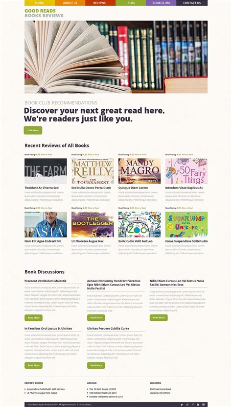 book novel themes books reviews wordpress theme 53486