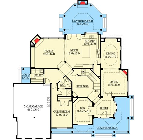 outdoor living floor plans spacious covered outdoor living with fireplace 23187jd architectural designs house plans